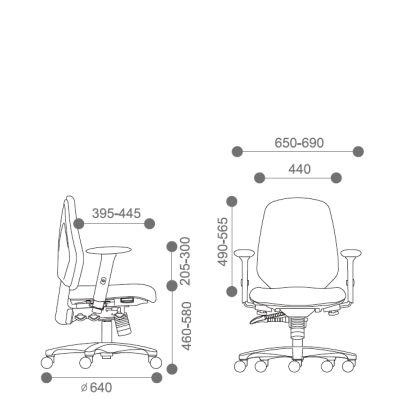 Origin High Upholstered Back Task Chair
