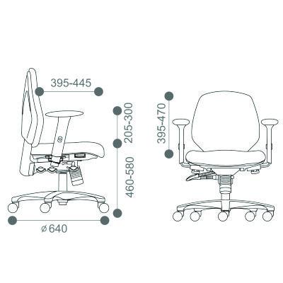 Origin Mid Upholstered Back Task Chair
