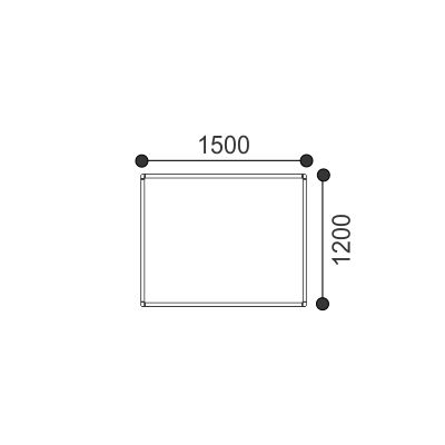 Porcelain Magnetic Whiteboard