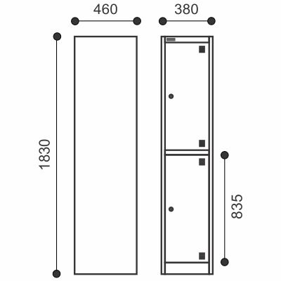 Allsteel Metal Lockers