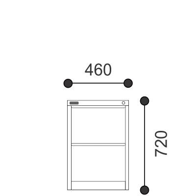 Allsteel Filing Cabinets