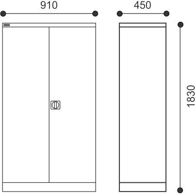 Allsteel Utility Cupboards