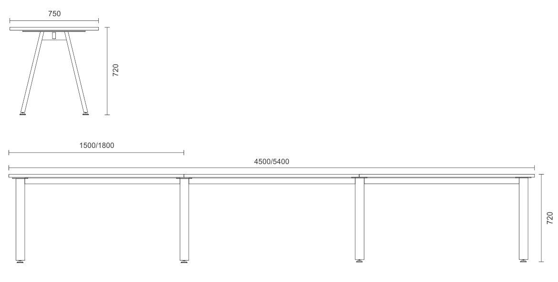 Proton Linear Complete Desks