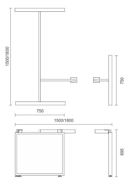 Horizon Workstation Frame Only